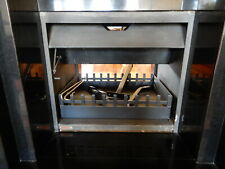 JETMASTER - Double Sided Fireplace, 750 mm wide, 7s