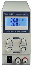 TekPower TP3003E DC Adjustable Switching Power Supply 30V 3A  Digital Display
