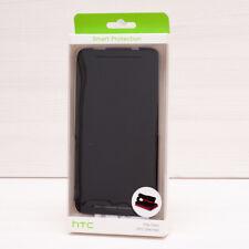 "Original HTC One Max 5.9"" Flip Case Black HC V880 SmartPhone Cover Genuine"
