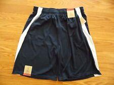 NWT Mens REEBOK Navy Blue White Exercise Athletic Shorts Size M Medium