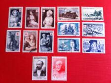 Lot de 14 timbres oblitérés 1951/55 Lot 286