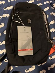 Victorinox Shoulder Bag Travel Gear  Lifestyle Accessory Sling Bag Black 607126
