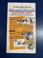 1980 ST. LOUIS BLUES HOCKEY GLOBE DEMOCRAT PHOTO-PAK NIGHT GAME GIVEAWAY POSTERS