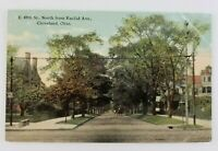 Postcard East 89th Street North of Euclid Ave Cleveland Ohio