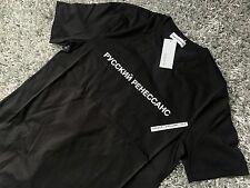 Gosha rubchinskiy 1984 BANDIERA Box Logo XLarge XL T-shirt Tee Nero Rinascimento SS17