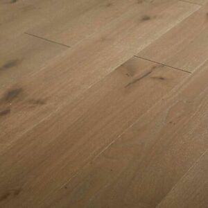 5 Planks of GoodHome Romsdal Grey Oak Real wood top layer flooring 0.89m² 7175