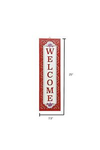 The Pioneer Woman Vertical Welcome Sign