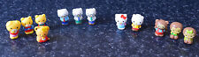 Squinkies Hello Kitty Girls Boys George Friends Babies 12 Mini Figures Toys