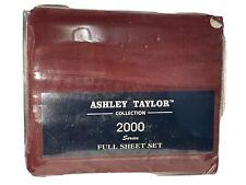 Ashley Taylor 2000 Series 4pc Full Sheet Set