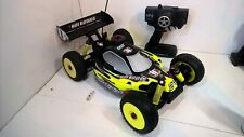 1/8 RC NITRO BUGGY THUNDER TIGER EB4 HYPER LIGHTNING 2 RR TROPHY CAR OFF ROAD