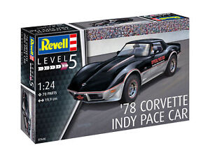 Revell 07646 - 1/24 '78 Corvette Indy Pace Car - New