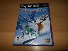 Snow Rider Sony Playstation 2 PS2 Nuovo Sigillato UK Versione Pal