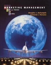 Marketing Management : Text and Cases by Douglas J. Dalrymple and Leonard J....