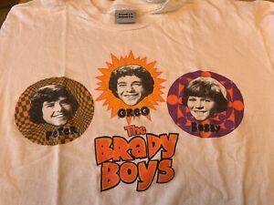 RARE Vintage retro 1995 Paramount video BRADY BUNCH Brady Boys XL T SHIRT