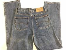 MENS MARLBORO CLASSICS REGULAR FIT JEANS BLUE DENIM SIZE 29x30