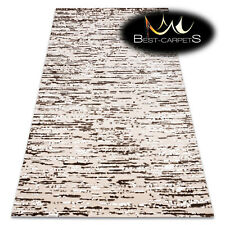 "SOFT AMAZING ACRYLIC RUGS ""DIZAYN"" 1042 Very Thick exclusive beige HIGH QUALITY"