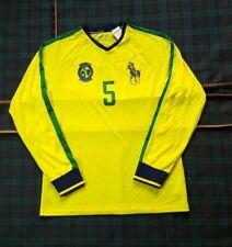 7d370513ce3 POLO Ralph Lauren Brazil Performance Soccer MENS longsleeve Shirt~Big Pony  (M)