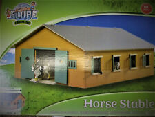 1/24 BIG WOODEN TOY HORSE STABLES STABLE 72 X 32 X 60CM FOR SCHLEICH & BULLYLAND