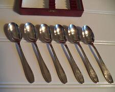 Lot de 6 cuillères à café Reneka 24 (mètal argenté) époque Art Déco
