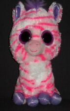 TY BEANIE BOOS - ZAZZY the ZEBRA - CLAIRE'S EXCLUSIVE - NO HANG TAG