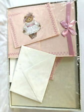 Teddy Bear Stationery Set NEW See Pictures of Box Contents