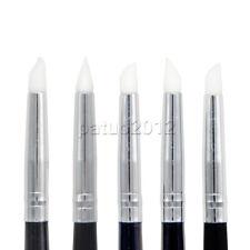 5pcs Dental Adhesive Composite Resin Cement Porcelain Teeth Silicone Brush Pen