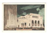 Roxy Theatre New York City Vintage Postcard AN3