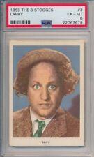 1959 FLEER THE 3 STOOGES LARRY CARD #3 GRADE PSA 6 EX-MT #22067678 NICE!