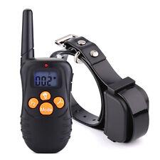 Hunde Erziehungshalsband Ton Vibrations Anti-Bell Hundehalsband Ferntrainer