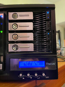 Thecus N4100Pro Network Attached Storage NAS - w/ 2 drives included.