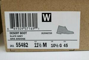 Clarks Desert Boots Slate Gray 26155482