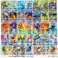 18-300Pcs Pokémon's card Vmax card GX Tag Team EX Mega shinny card