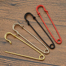 Extra Large Metal Safety Pins DIY Craft Garment Accessories Brooch Pins 4 Colors