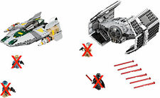 LEGO STAR WARS 75150 - VADER'S TIE ADVANCED vs A-WING  *SIN MINIFIGS/ NO MINIFIG