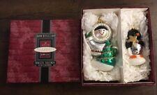 Hallmark-Frosty Friends-1998-Keepsake-Eskimo & Penguin