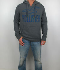 New HOLLISTER By Abercrombie Men Victoria Beach Redondo Hoodie Sweatshirt NWT