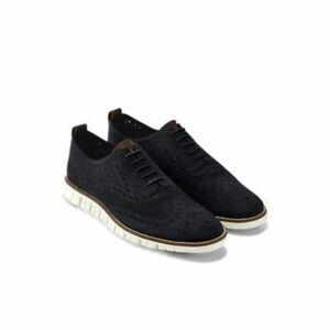 Cole Haan Zerogrand Stitchlite Oxford Black Shoes SZ 12M 12 M