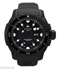 NEW Zodiac ZO8605 Mens ZMX-06 Sea Dragon Black Automatic Watch 200m LIMITED ED.