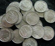 French Equatorial Africa Cameroon  1 Franc 1969 BU lot of 25 BU coins 3 eland