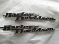 Harley Davidson Tankschilder Tankembleme Tank Embleme Set 62435-11 / 62437-11