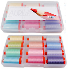 Aurifil PASTEL Thread Collection 12 1422 yd spools 50 wt