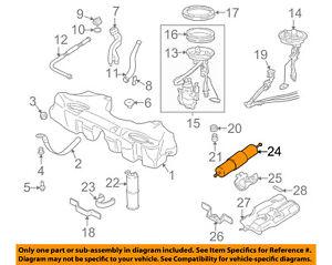 BMW OEM 96-00 Z3-Fuel Filter 13321740985