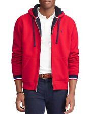Mens Ralph Lauren  red hoodie 2XL , super warm NEW , RRP £ 135