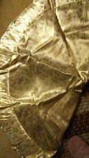 "christmas tree skirt gold, 48"""