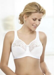 Glamorise Lace Natural Wire Support Bra - 34B 34G