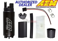 GENUINE AEM 50-1000 Performance Intank EFI Fuel Pump w/ Strainer & Install Kit
