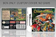 NINTENDO DS :CHILDREN OF MANA. UNOFFICIAL COVER. ORIGINAL BOX. NO GAME. ENGLISH.