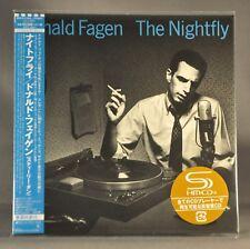 Donald FAGEN Nightfly Original First Press 2017 JAPAN Mini LP SHM-CD WPCR-17866