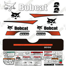 Bobcat S550 Decal Kit Skid Steer (Curved Stripes) S 550