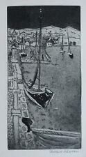 EBERHARD SCHLOTTER , 1921 HILDESHEIM  - 2014 ALTEA ALICANTE . Radierung , sign .